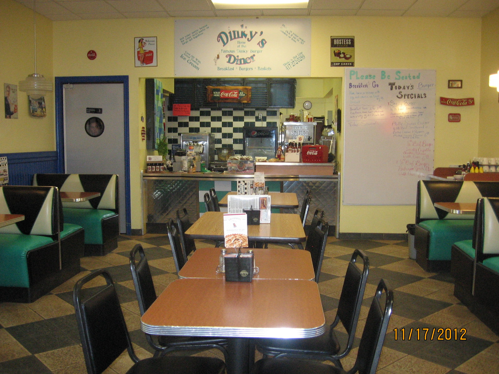 Inside Picture of Dinkys Diner